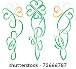 the shamrock have been made in... | Shutterstock .eps vector #72666787