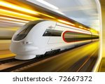 Super Streamlined Train With...