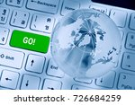software or program... | Shutterstock . vector #726684259