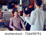 business  startup  presentation ... | Shutterstock . vector #726698791