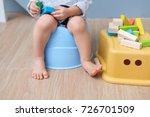 closeup of legs of cute little... | Shutterstock . vector #726701509