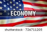 economy concept. business... | Shutterstock . vector #726711205