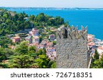 panoramic view from the... | Shutterstock . vector #726718351