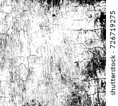 black and white abstract grunge ... | Shutterstock .eps vector #726719275
