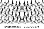 abstract pattern black and... | Shutterstock .eps vector #726729175