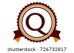 modern logo solution letter q   Shutterstock .eps vector #726732817
