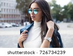 close up lifestyle fashion... | Shutterstock . vector #726734239