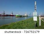 zeebrugge  belgium    9 april... | Shutterstock . vector #726752179
