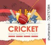 cricket background | Shutterstock .eps vector #726757384