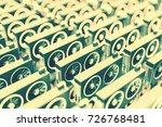 design element. 3d illustration.... | Shutterstock . vector #726768481