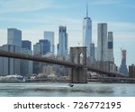 landscape view of brooklyn... | Shutterstock . vector #726772195