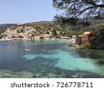 the assos village with its... | Shutterstock . vector #726778711