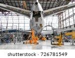 large passenger aircraft on...