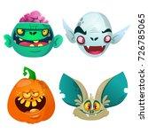 halloween characters  set.... | Shutterstock .eps vector #726785065