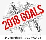 2018 goals word cloud business...   Shutterstock .eps vector #726791485