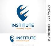 institute logo template design... | Shutterstock .eps vector #726791809