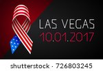 banner pray for las vegas.... | Shutterstock .eps vector #726803245