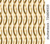 vertical weaved ropes vector... | Shutterstock .eps vector #726804535