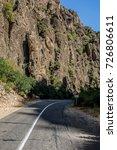 road in the valley | Shutterstock . vector #726806611