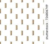 wooden hairbrush pattern...   Shutterstock . vector #726806749