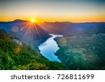 viewpoint banjska stena tara... | Shutterstock . vector #726811699