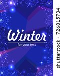 new year background with space... | Shutterstock .eps vector #726815734