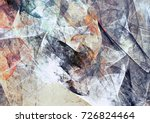 abstract painting soft color... | Shutterstock . vector #726824464
