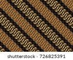 javanese batik | Shutterstock .eps vector #726825391
