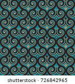 elegant element  arabesque... | Shutterstock .eps vector #726842965