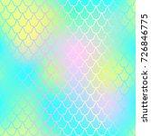fantastic fish skin vector... | Shutterstock .eps vector #726846775
