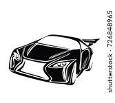sport car vector | Shutterstock .eps vector #726848965