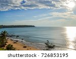 untouched beautiful beach off... | Shutterstock . vector #726853195