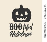 halloween related vector... | Shutterstock .eps vector #726866941