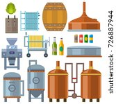 Beer Brewing Process Alcohol...