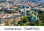 aerial top view of st sophia... | Shutterstock . vector #726897421