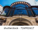 detail of the art nouveau... | Shutterstock . vector #726902617