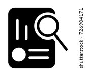 magnifier icon | Shutterstock .eps vector #726904171