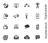 communication vector icons for... | Shutterstock .eps vector #726914449