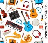 speakers  amplifier ...   Shutterstock .eps vector #726932344