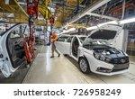 izhevsk  russia   august 15 ... | Shutterstock . vector #726958249