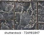 dark bick wall  background ... | Shutterstock . vector #726981847
