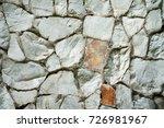 seamless stone surface... | Shutterstock . vector #726981967