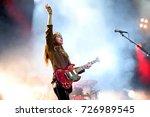 barcelona   jun 3  haim  indie... | Shutterstock . vector #726989545