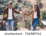 couple in love couple | Shutterstock . vector #726989761