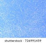 blue mottled background. marble ... | Shutterstock .eps vector #726991459