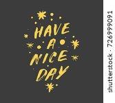 vector hand drawn inscription ... | Shutterstock .eps vector #726999091
