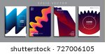 minimal vector cover designs.... | Shutterstock .eps vector #727006105