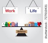 vector business concept as... | Shutterstock .eps vector #727010431