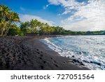 Punaluu Black Sand Beach  Big...