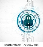 protection concept. protect... | Shutterstock .eps vector #727067401